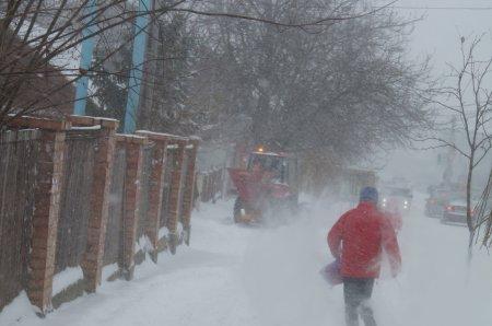 Вступает в силу желтый код метеоопасности: ожидаются сильные снегопады