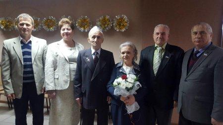 Руководители Комрата поздравили семейную пару, отметившую 50- летний юбилей совместной жизни.