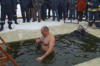 Крещенские купания в Комрате  (фоторепортаж)