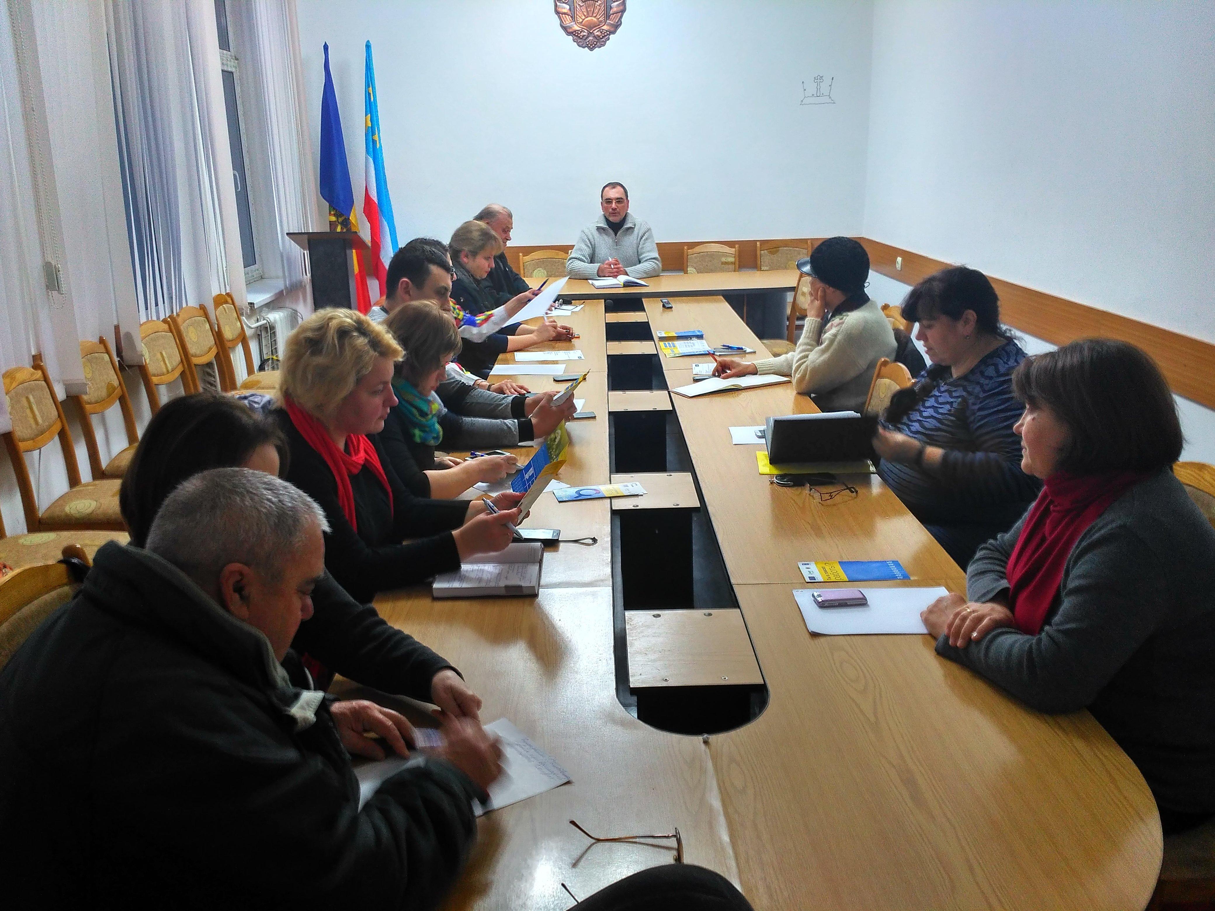 Состоялось очередное заседание Общественного Совета при примэрии Комрата