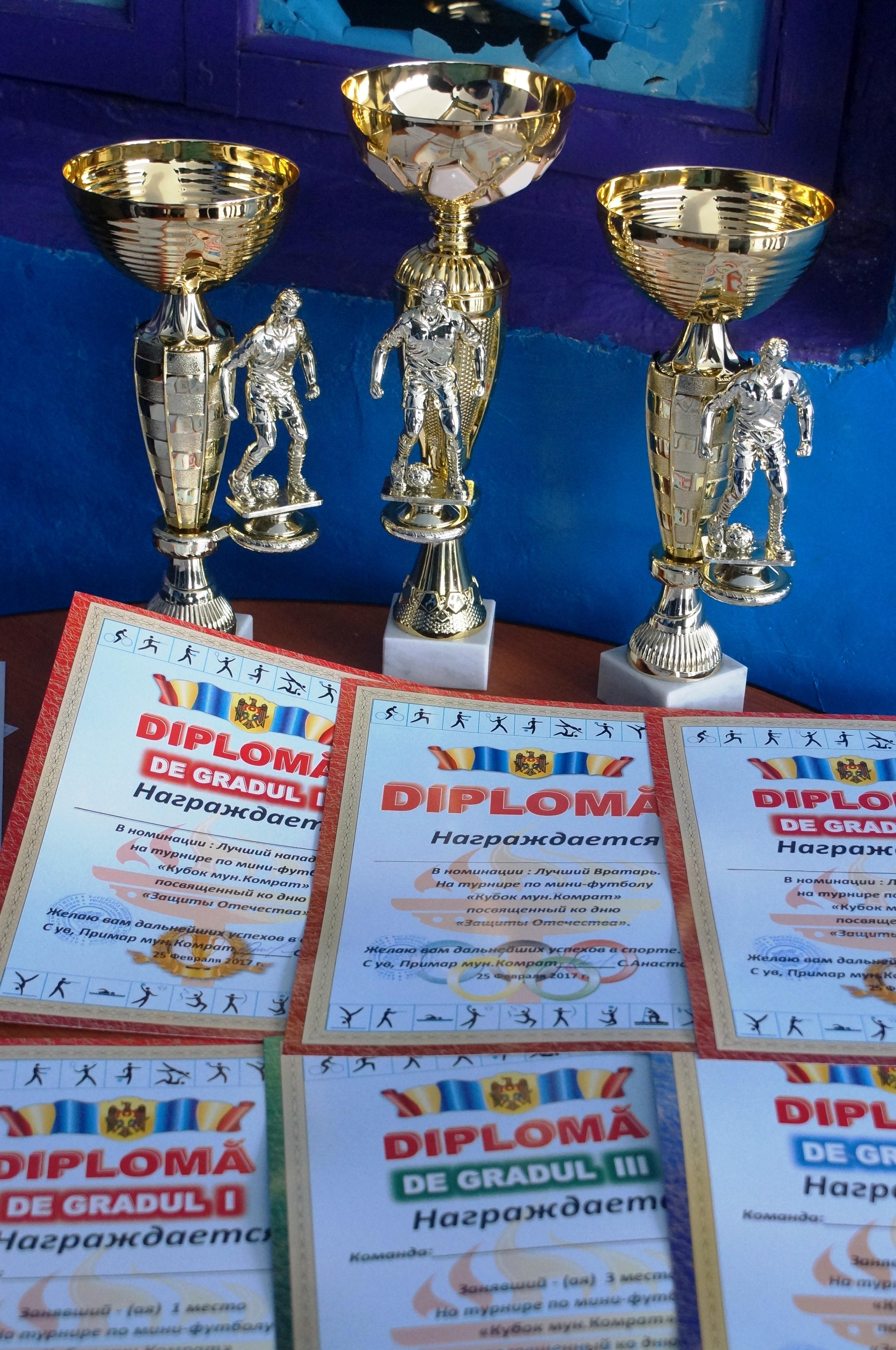 В турнире по мини-футболу в Комрате приняли участие 11 команд