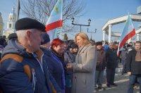 Митинг в честь третьей годовщины референдумов, состоявшихся в Гагаузии 2 февраля 2014г (фоторепортаж)