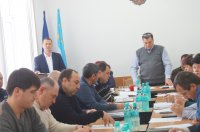 Внеочередное заседание муниципального совета Комрата (фоторепортаж)