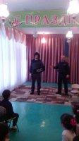 Сотрудники ООБ ИП Комрат провели профилактические мероприятия с детьми дошкольного возраста