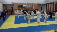 Комратские юные тхэквондисты учатся мастерству