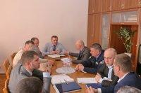 Состоялось экстренное совещание комиссии ЧС в связи с прорывом дамбы комратского озера (ФОТО)