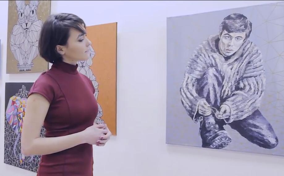 Персональная выставка Кара Виктории о важном - Родине.