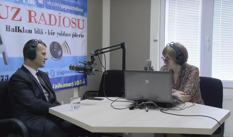LIVE: ПРОГРАММА «ДИАЛОГ В СТУДИИ» НА GRT FM - ГОСТЬ В СТУДИИ СЕРГЕЙ АНАСТАСОВ