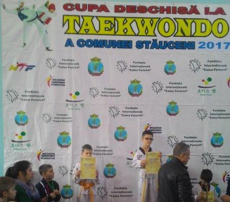 Удачный дебют Комратских тхэквондистов!