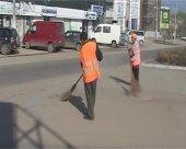 В Комрате ведутся работы по благоустройству (фоторепортаж)