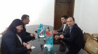 Встреча примара Комрата с депутатами Европарламента от Республики Болгария