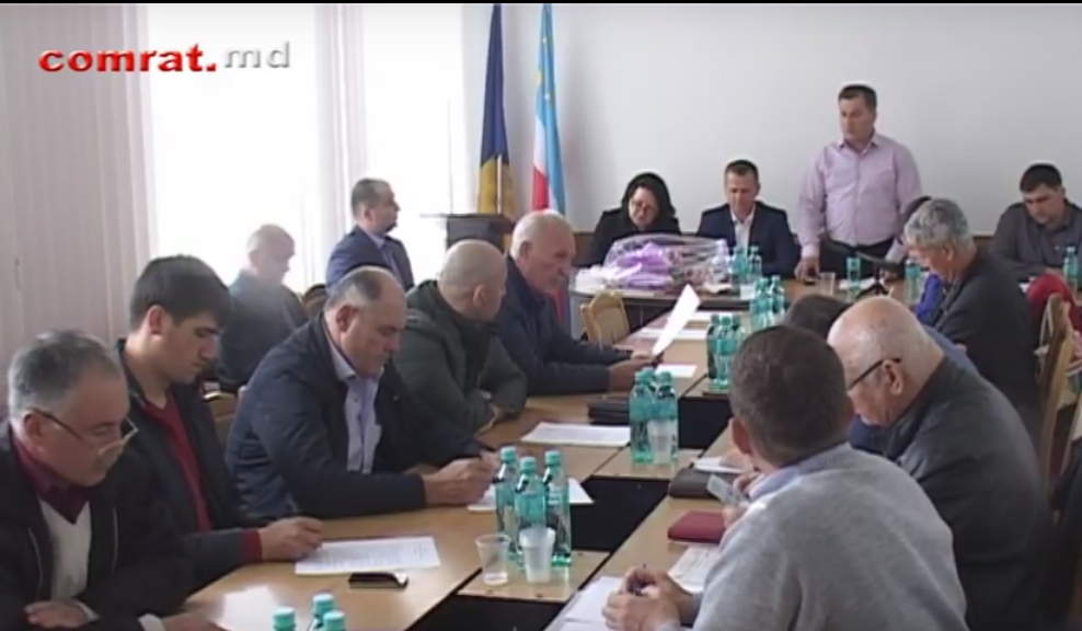 Заседание муниципального совета Комрат от 19.04.2017г. (видео)