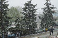 Комрат: снег в апреле (фоторепортаж)