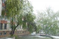 Апрель: Комрат в снегу (фоторепортаж)