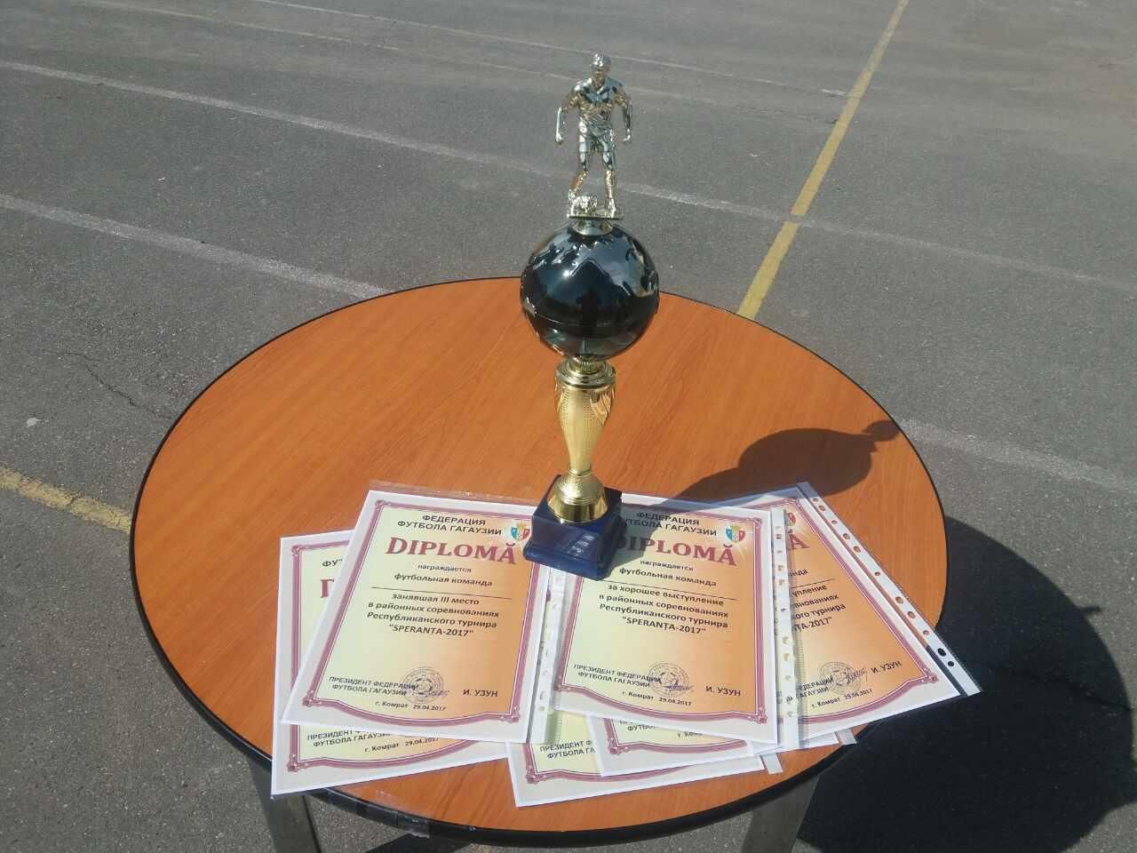 В Комрате прошел турнир по футболу среди девушек