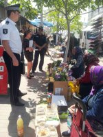 Продолжаются рейды по ликвидации уличной торговли в Комрате