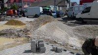 Продолжаются работы по реконструкции ул.Победа (фоторепортаж)