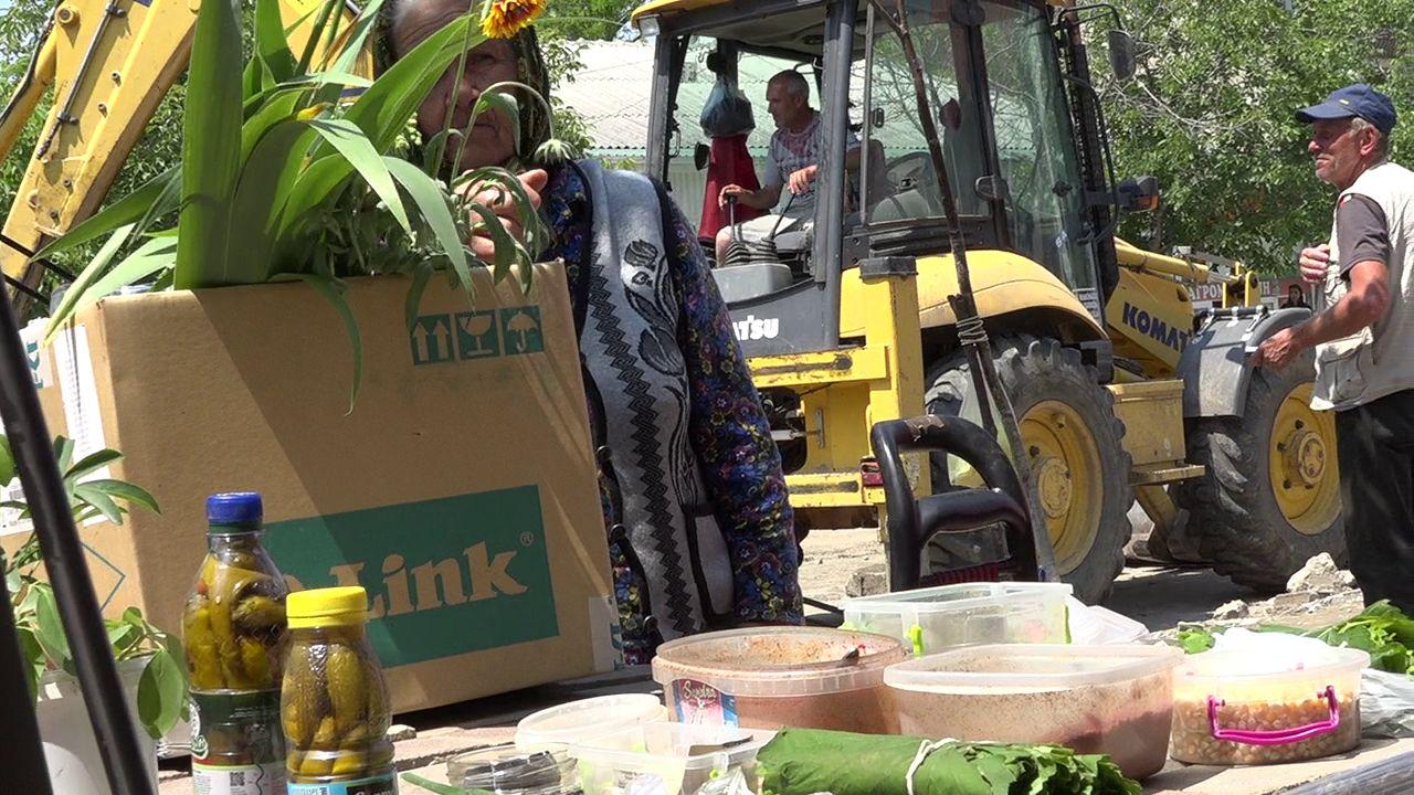 Рейд по уличной торговле в Комрате (фоторепортаж)
