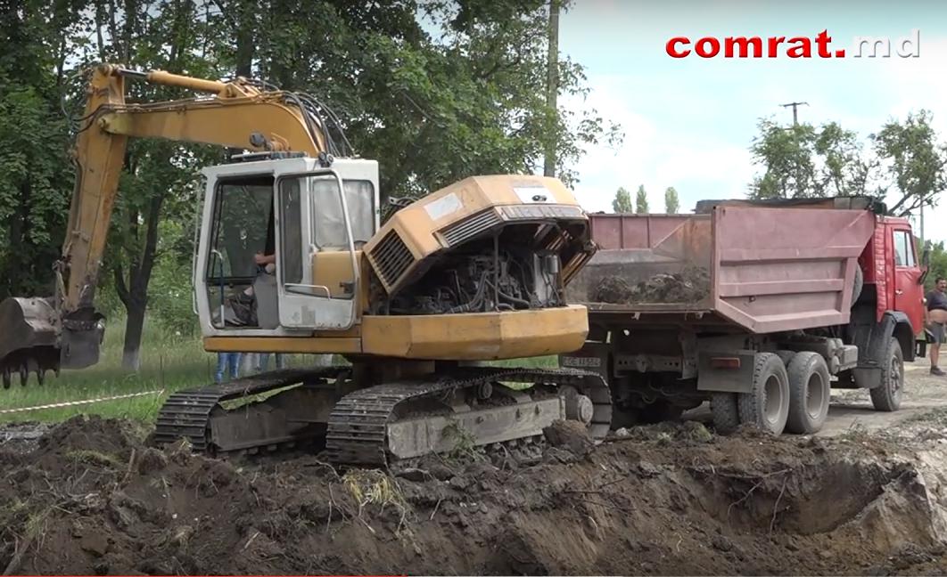 Начались работы по строительству детского сада №1 в Комрате