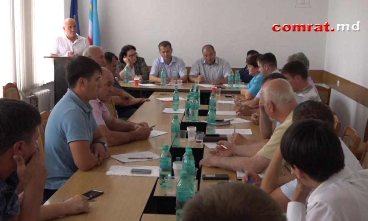 Внеочередное заседание муниципального совета Комрата от 14 июня 2017г (видео)