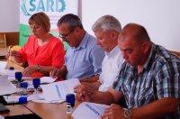 В рамках проекта SARD подписано соглашение об Ассоциации для межобщинного сотрудничества
