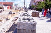 Реконструкция улицы Победа в Комрате (фоторепортаж)