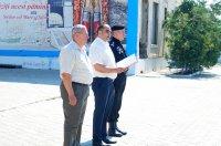 Примэрия Комрата выражает благодарность составу воинской части №1045 за помощь в ликвидации последствий стихийных бедствий