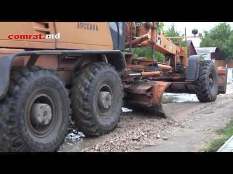 Последствия проливных дождей прошедших в Комрате 27 июля 2017г (видео)