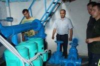 МП «Су- канал» установил 3 новых перекачивающих насоса для системы водоснабжения города