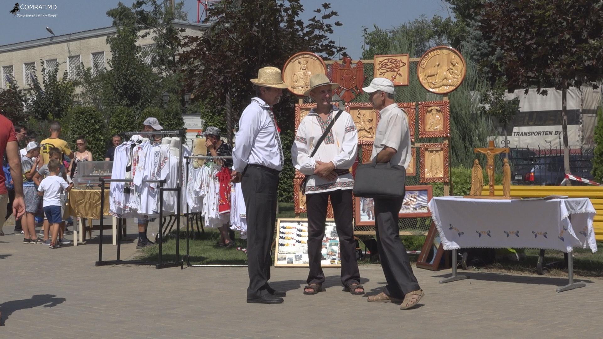 Выставка народных умельцев в Комрате (фоторепортаж)