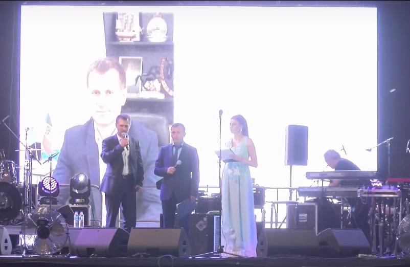 Видеотрансляция концерта по случаю города Комрат
