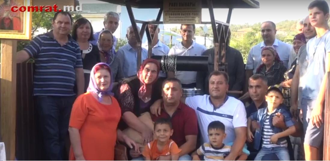 Семья Кысса восстановила старый колодец в Комрате (видео)