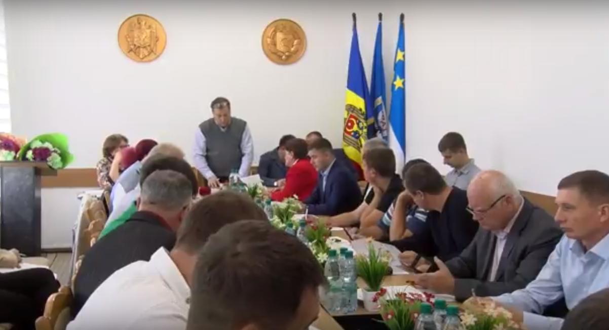 LIVE: Заседание муниципального совета Комрат от 29.09.2017