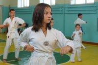 В секции киокушинкай Комратской муниципальной спортивной школы занимаются более 60 школьников