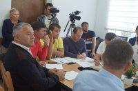 Заседание муниципального совета Комрата от 29 сентября 2017г. (фоторепортаж)