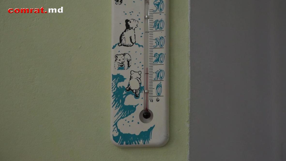 Температурный режим в детских садах Комрата оптимальный