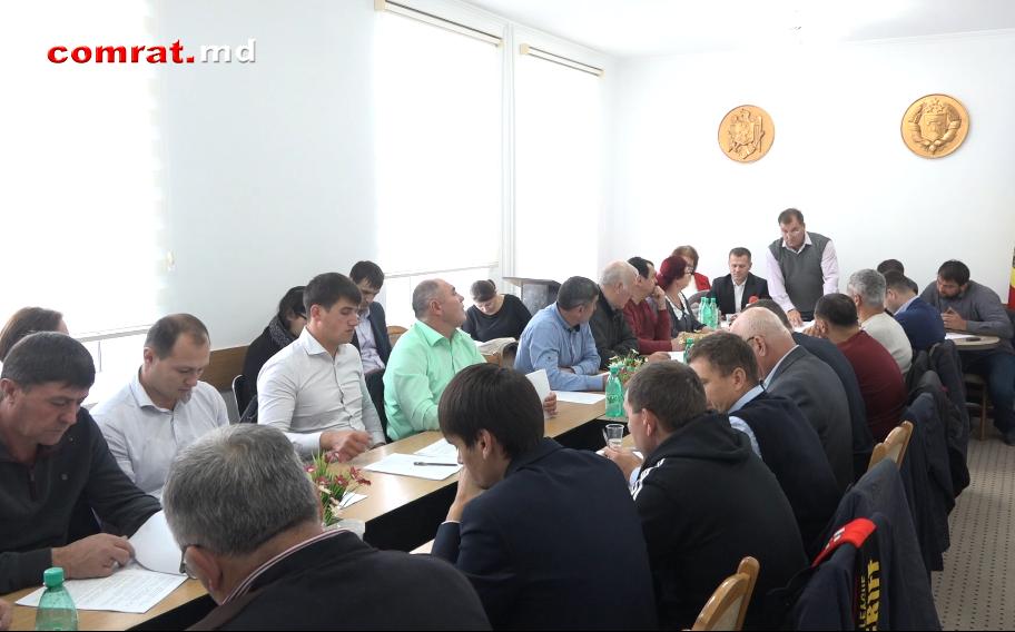 Заседание муниципального совета Комрат от 27 10 17г (видео)