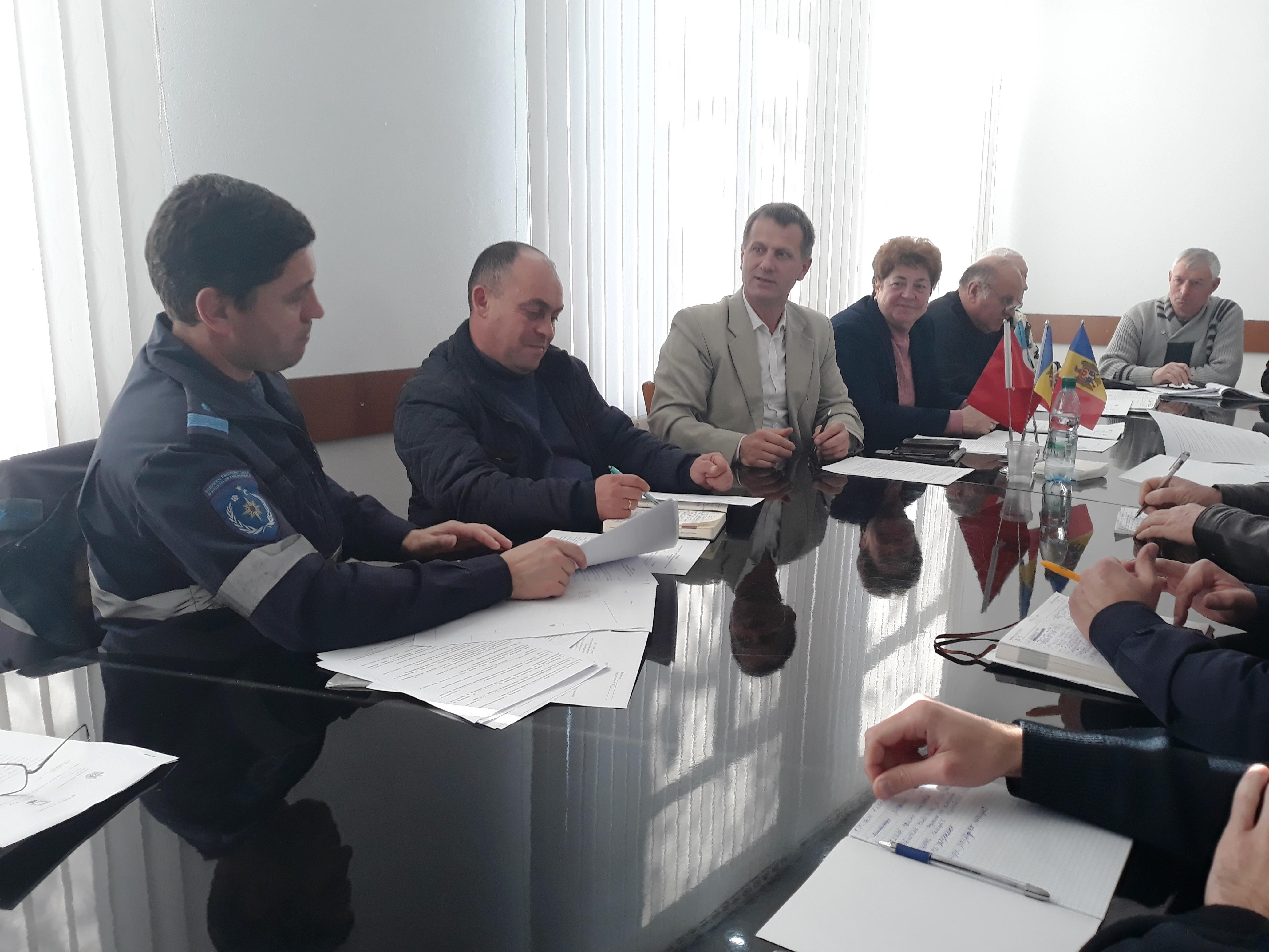 В примэрии Комрата состоялась встреча в рамках подготовки к учениям по гражданской защите населения