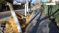 Завершается укладка тротуара на улице Шевченко (фоторепортаж)