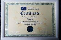 Примэрия Комрата стала участником проекта  «Мэры за экономический рост»