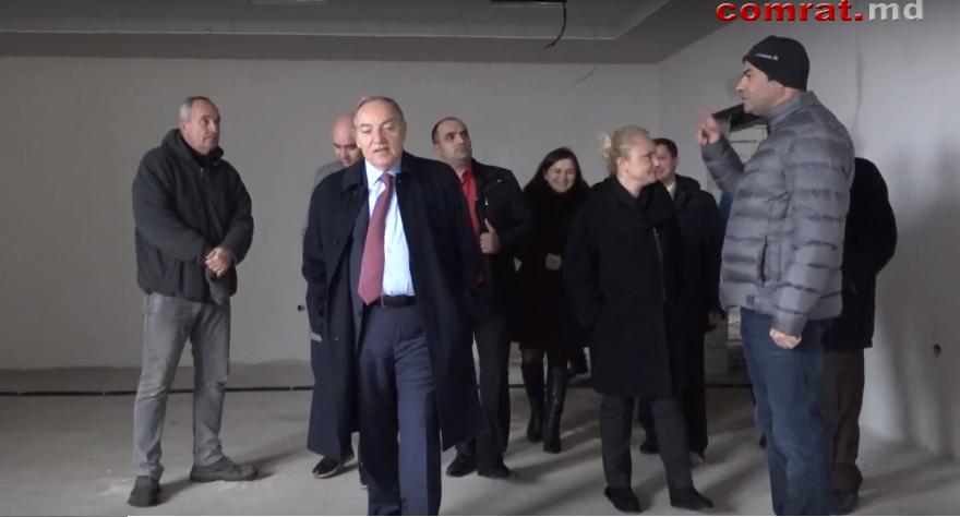 Посол Турции в РМ и руководитель Агенства ТИКА побывали на строящихся объектах Комрата (видео)