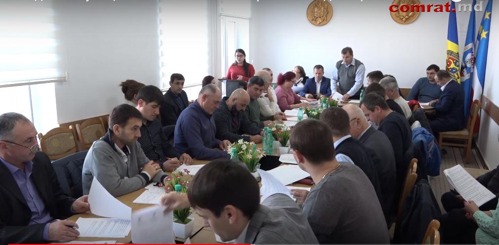 Заседание муниципального совета Комрата от 15 декабря 2017г. (Видео)