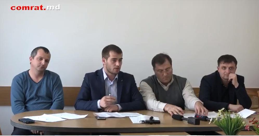 Руководство муниципального совета Комрата подвело итоги работы за 2017г (видео)