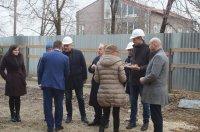 Посол Турции в РМ и руководитель Агенства ТИКА побывали на строящемся объекте Дома творчества Комрата (фоторепортаж)