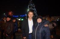Горожане и гости м.Комрат встретили Новый Год у главной елки Гагаузии  (фоторепортаж)