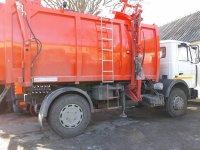 Комратский МП ЖКХ получил новый автомобиль для вывоза мусора
