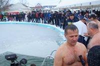 Обряд Крещенского купания в Комрате (фоторепортаж)