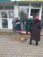 Работа специалистов примэрии Комрата по ликвидации уличной торговли (фоторепортаж)