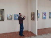 Состоялось открытие выставки картин «Весна, женщина, любовь»