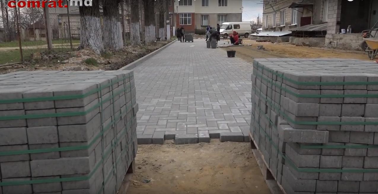 Для удобства жителей микрорайона по ул. Гоголя в м.Комрат